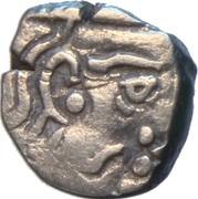 Drachm - Krishnaraja (Kalachuris of Mahismati) – avers