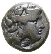 Bronze Æ18 (Countermarked) – avers