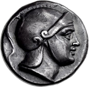Didrachm (Kalymna) – avers
