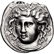 Drachm (Kamarina) – revers