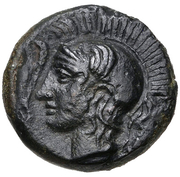 Trionkion (Kamarina) – avers