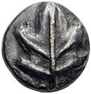 Diobol (Kamiros) – avers