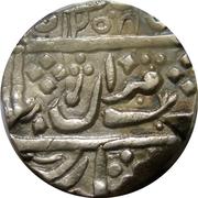 1 Rupee - Muhammad Akbar II [Harbaksh Pal] – avers