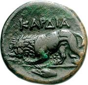 Bronze Æ20 (Kardia) – revers