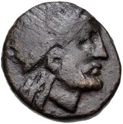 Bronze Æ15 (Karthaia) – avers