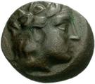 Bronze Æ20 (Karthaia) – avers