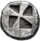 Stater (Karthaia) – revers