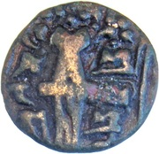 Stater - Vajraditya (Kashmir Post-Gupta Empire) – revers