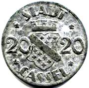 20 pfennig - Cassel – avers
