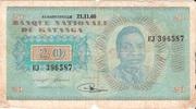 20 Francs (Moise Tshombé) – avers