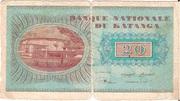 20 Francs (Moise Tshombé) – revers