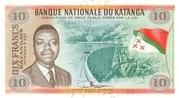 "10 Francs ""Moise Tshombé"" – avers"