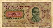 "500 Francs ""Moise Tshombé"" – avers"