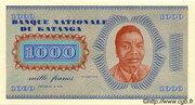 "1 000 Francs ""Moise Tshombé"" – avers"