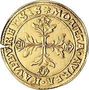 1 Krone (Goldkrone) – avers