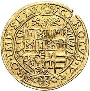 1 Krone (Goldkrone) – revers
