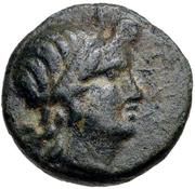 Bronze Æ10 (Kaunos) – avers