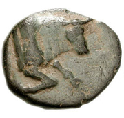 Bronze Æ12 (Kaunos) – avers
