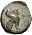 Bronze Æ12 (Kaunos) – revers