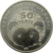 50 tenge Hemiechinus hypomelas -  avers