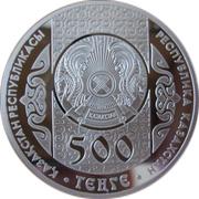 500 tenge Betashar -  avers