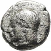 Diobol - Troas (Kebren) – avers