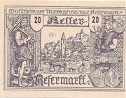 20 Heller (Kefermarkt) -  avers