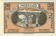 20 Heller 1920 Kematen – avers