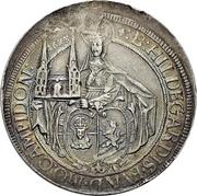 1 Thaler - Johann Eucharius von Wolffurt – avers