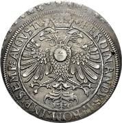 1 Thaler - Johann Eucharius von Wolffurt – revers
