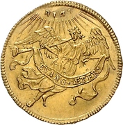 1 Ducat (200 years of reformation) – revers
