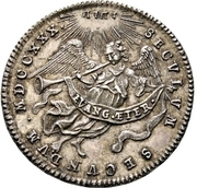 1 Ducat (Augsburg Confession; Silver pattern strike) – revers