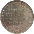2 groschen (200ème anniversaire de la réformation) – avers