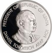 1000 shillings (Banque centrale) – revers