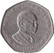 5 shillings Arap Moi (cupronickel) -  revers