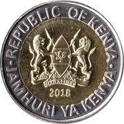 20 shillings (Éléphant) – avers