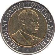 20 shillings Arap Moi -  revers