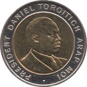 5 shillings Arap Moi -  revers