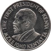 1 shilling Jomo Kenyatta (petit module) -  revers