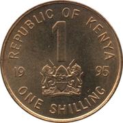 1 shilling Arap Moi -  avers