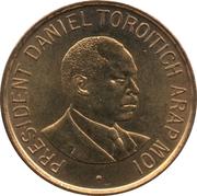 1 shilling Arap Moi -  revers