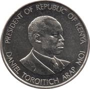 50 cents Arap Moi (acier plaqué nickel) – revers