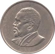 50 cents Jomo Kenyatta (sans légende) – revers