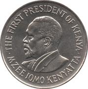 1 shilling Jomo Kenyatta (avec légende) – revers
