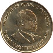 10 cents Arap Moi (Non-magnétique) – revers