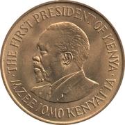 10 cents Jomo Kenyatta (avec légende) – revers
