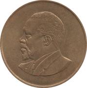 10 cents Jomo Kenyatta (sans légende) – revers