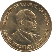 5 cents Arap Moi – revers