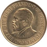 5 cents Jomo Kenyatta (avec légende) – revers