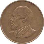 5 cents Jomo Kenyatta (sans légende) – revers